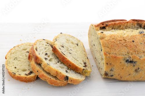 Italian three olive loaf