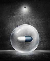 super drug under light