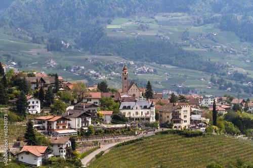 Blick auf Dorf Tirol - 65248173