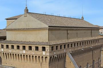 Cappella Sistina vista dalla Cupola di San Pietro