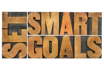 set smart goals in wood type