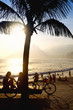 Sunset Silhouettes Arpoador Rio de Janeiro Brazil