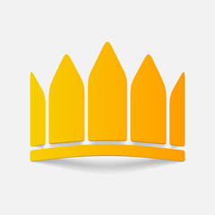realistic design element: crown