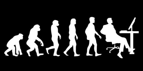Vom Affen zum (Menschen) Büromann