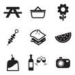 Picnic Icons - 65253130