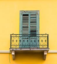 Balcon en Grèce