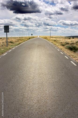 Carretera hacia el cielo