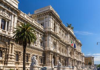 Palazzo di Giustizia in Rome, Italy