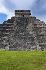 The famous pyramid of Chichen itza