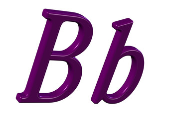 pembe b harfi