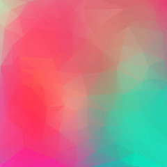 Abstract colorful geometric style background