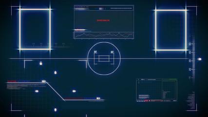 Scifi control panel
