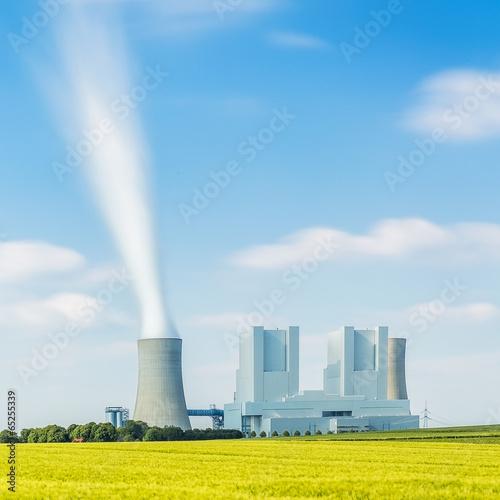 Zdjęcia na płótnie, fototapety, obrazy : Braunkohlekraftwerk grevenbroich
