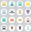 transport icon set - 65255550