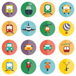 transport icon set - 65255553