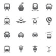 transport icon set - 65255555
