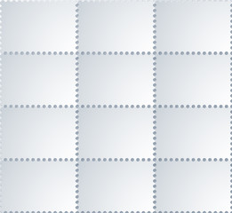 vector modern  postage background.