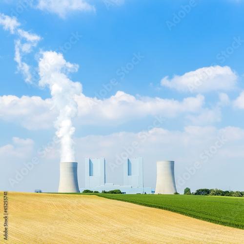 Zdjęcia na płótnie, fototapety, obrazy : brown cole power station