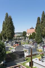 Cementary in Czermna, Kudowa Zdroj, Poland
