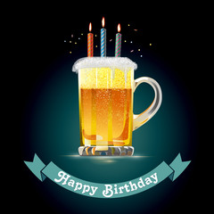 Happy Birthday for Beer Lovers