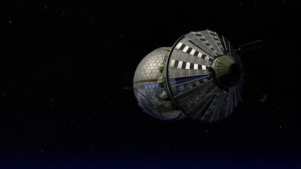 Vostok 1 - Raumschiff - Weltraum - Orbit