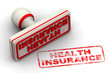 Health insurance. Seal and imprint