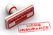 Home insurance. Seal and imprint