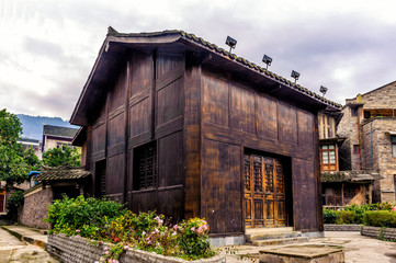 Traditional Miao House