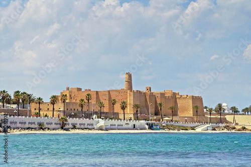 In de dag Tunesië Ribat in Monastir, Tunisia