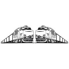 Güterzug Eisenbahn