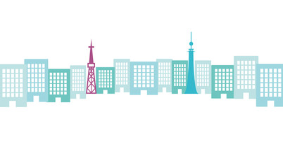 Tokyo Tower & Tokyo Sky Tree image