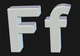 beyaz f tasarımı