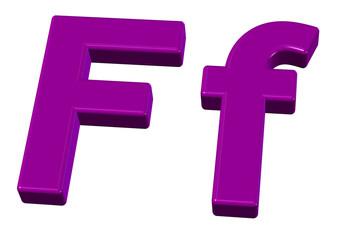 pembe f tasarımı