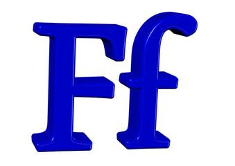 mavi f tasarımı