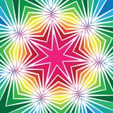 Colourful Geometric Star Design - 65263150