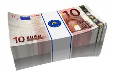 € 10 mazzetta