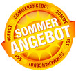 "Button Banner ""Sommerangebot"" gelb"