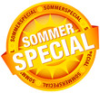 "Button Banner ""Sommerspecial"" gelb"