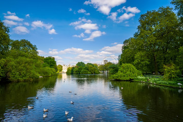 St.James Park in London