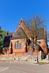 Saint Anna Church (1901) in Sztum town, Poland