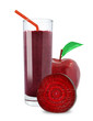 juice of apples and beetroot - 65267515