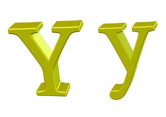 sarın y harfi tasarımı