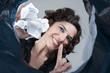 Постер, плакат: Proper waste disposal