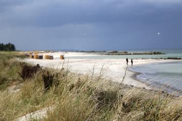Ostsee Kieler Förde Probstei durchwachsen mit Sonne und Wolken