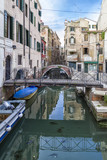 Small Traditional Bridges in Venice, Italy