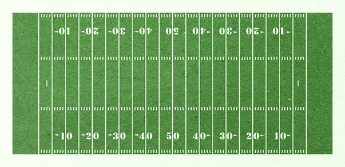 football field green paper