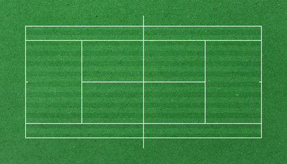clay tennis court background paper