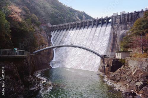 Spoed canvasdoek 2cm dik Dam ダム