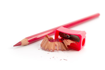 Buntstift und Anspitzer