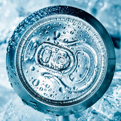 Can on ice
